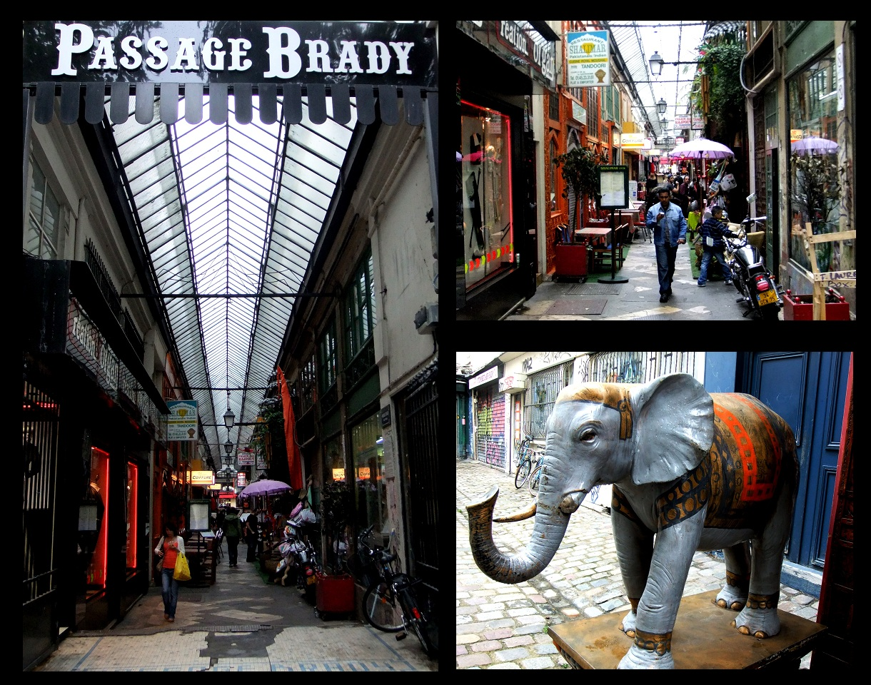 Passage Brady  Your free ticket to India in Paris  Les