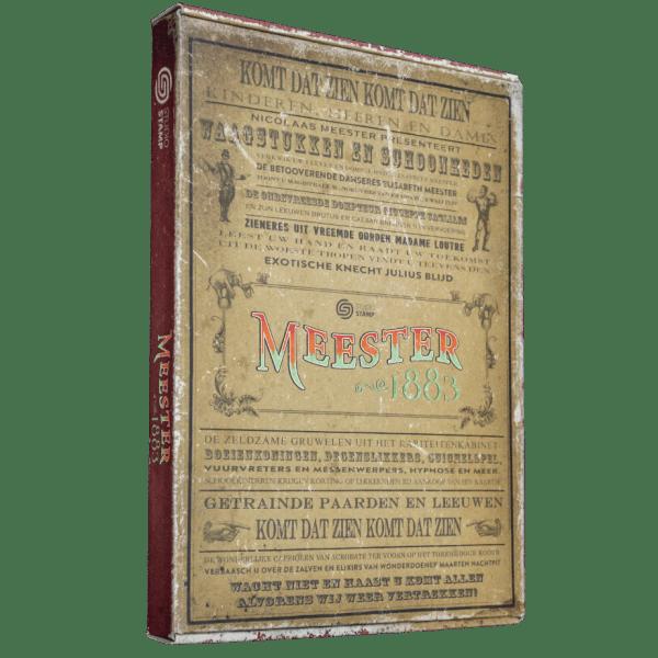 thuismysterie meester, 1883 pakket