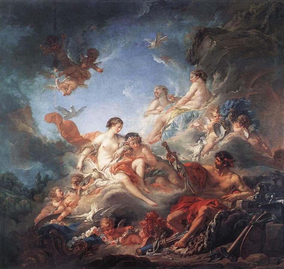 Olympos Efesto Dio onesto e sfortunato  Tablinum