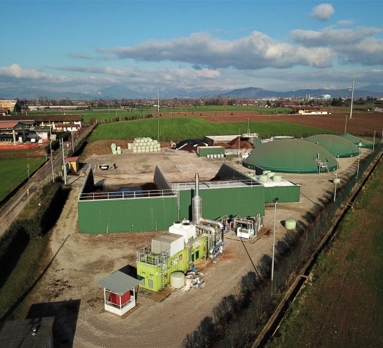 Impianto di Biogas Mesofilo – 600 kW