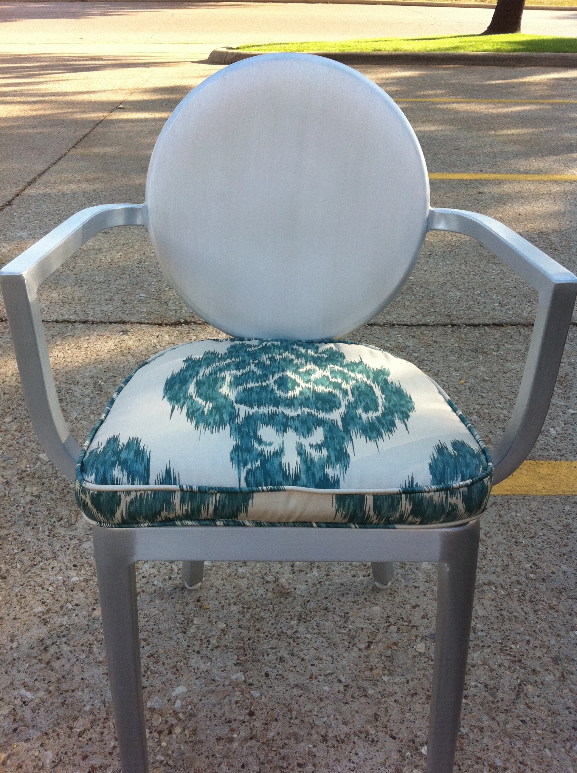 cushions for ghost chairs large round patio table and chair cushion