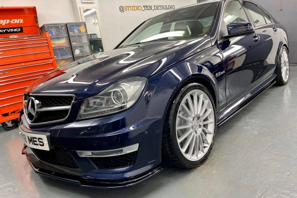 Studio Ten Mercedes C63 after pass side
