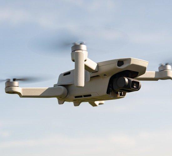 Drone Gebäude