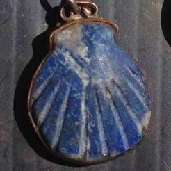 Blue Shell Pendant