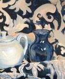Leah Grear, Blue Vase