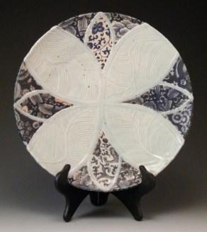 Jay Lacouture, Platter, Soda Vapor Glazed Porcelain