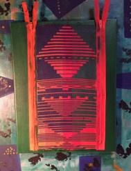 Abstract 3 doubleweave Acrylic and fiber-72