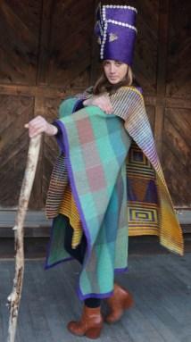 Jan Doyle, Double weave Pick-up Coat