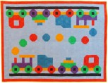 Patricia Arrow, Toy Train Quilt