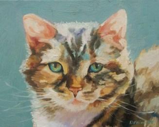 Beth Drainville, Gypsy, 8x10-oil