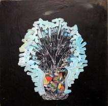 Hans Viets, Flowers in Vase