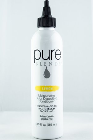 Pure Blends Hydrating Color Depositing Conditioner – Lemon | Studio Trio Hair Salon