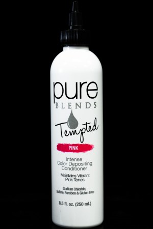 Pure Blends Tempted Intense Color Depositing Conditioner – Pink | Studio Trio Hair Salon