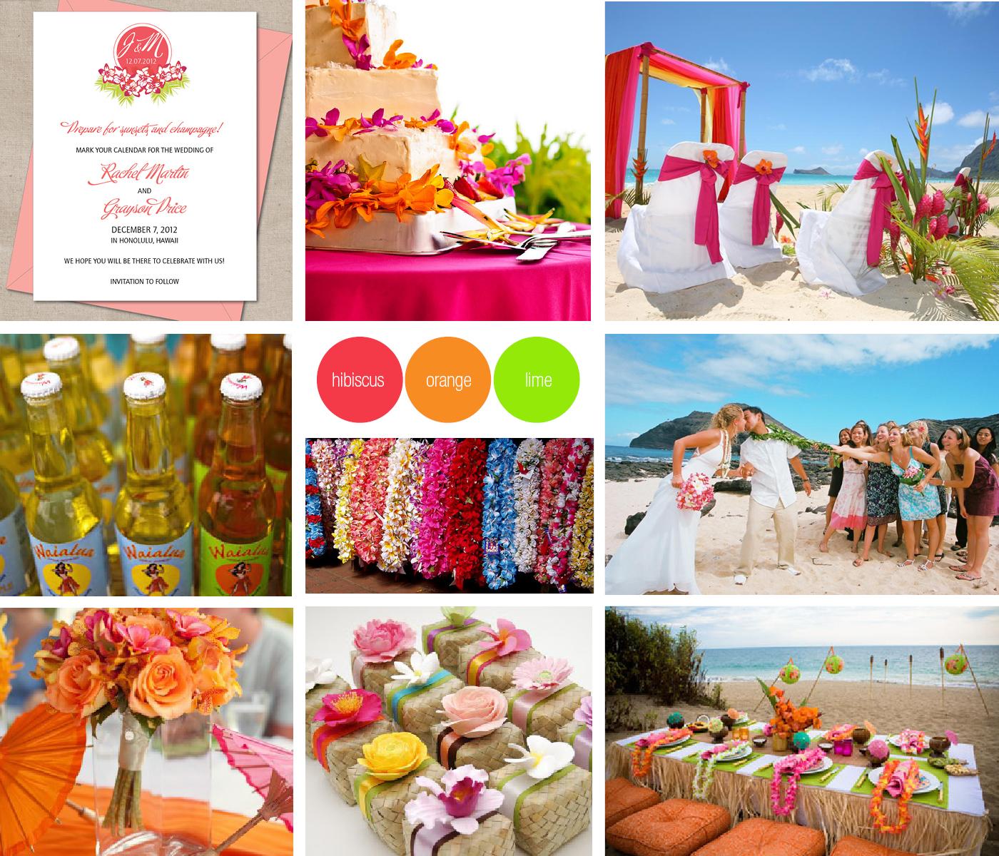 Aloha Hawaiian Wedding Blog Toronto Wedding Invitations