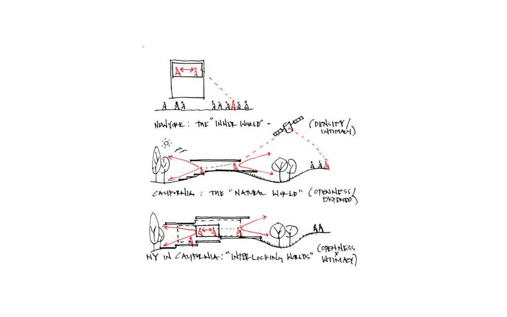 medium resolution of studio vara residential woodside i diagram new york california