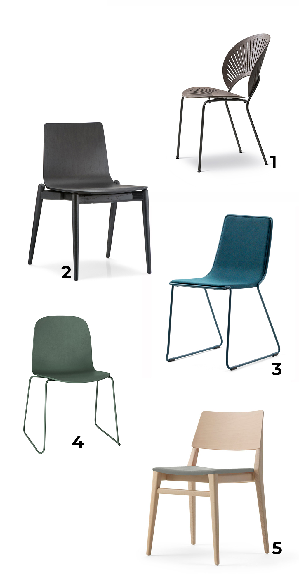 Beautiful Chairs 5 Beautiful Stackable Chairs For Flexible Dining Areas In