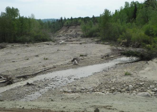 Toad Road washouts