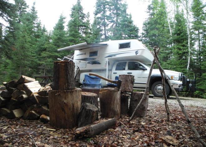 Iskwasum campsite