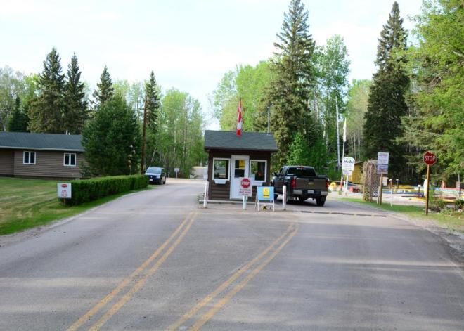 NRP entrance