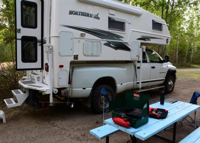 NRP camping sites