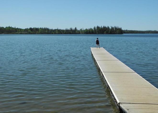 Cranberry Portage deep water