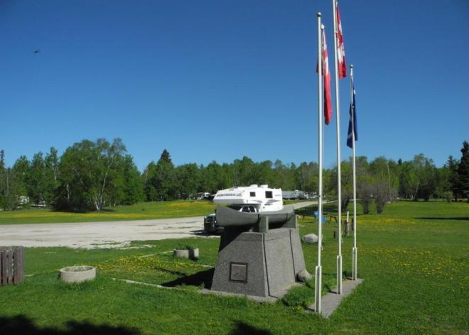Cranberry Portage campground