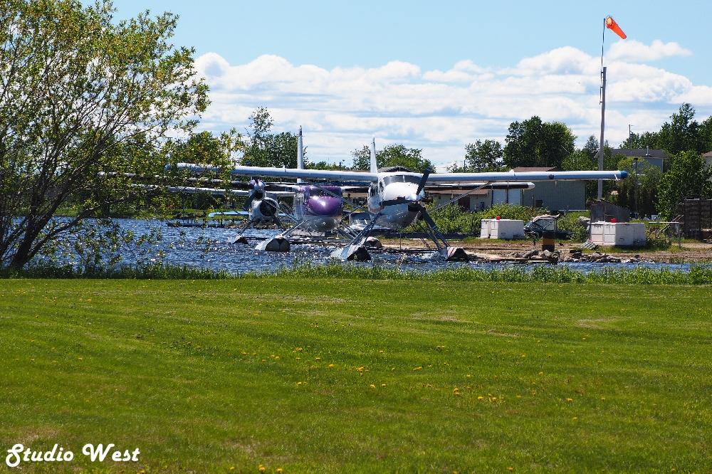 Float planes at LaRonge