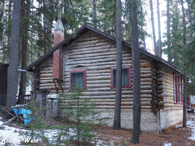 Cypress Hills log home