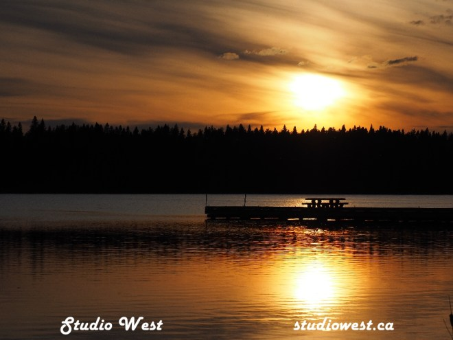 Sunset at Big River