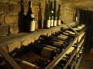 Siedlisko - Gliwice, leżakowanie win w piwnicy