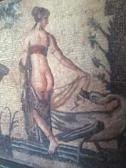 """Słynna mozaika: """"Weda z łabędziem"""""""