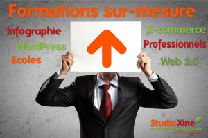 formations web wordpress photoshop StudioXine