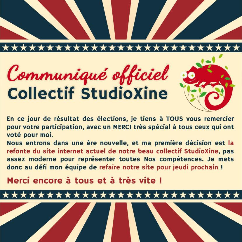 capucine nouveau logo au collectif Studioxine