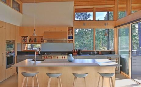 Interior photo for modern custom home in Nelson Preserve neighborhood of Suncadia Washington