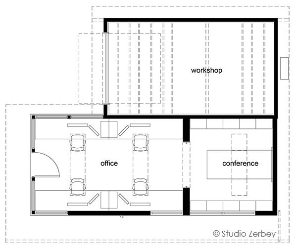 © Studio Zerbey - Office And Workshop - 7
