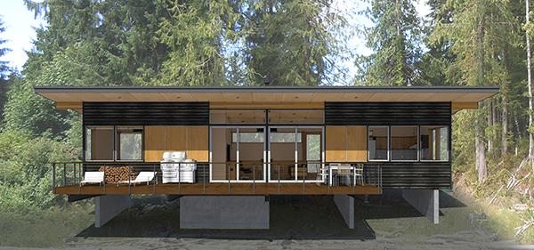 Studio Zerbey Olympic Forest Cabin-2