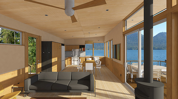 Studio Zerbey Olympic Forest Cabin-6