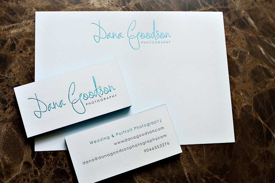Letterpress Business Cards For Childrens Photographers