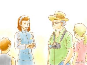cara menjadi tour guide