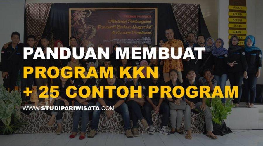 Panduan Membuat Program KKN Pariwisata & Umum + 25 Contoh Program KKN