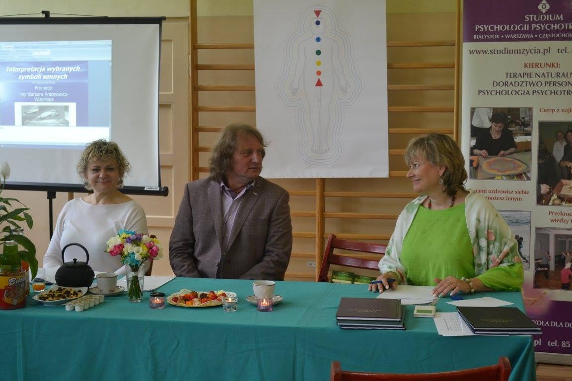 Komisja egzaminacyjna w składzie: Irena Nawrocka, Magdalena Kulejewska, Barbara Antonowicz, Zbyszko Patyk