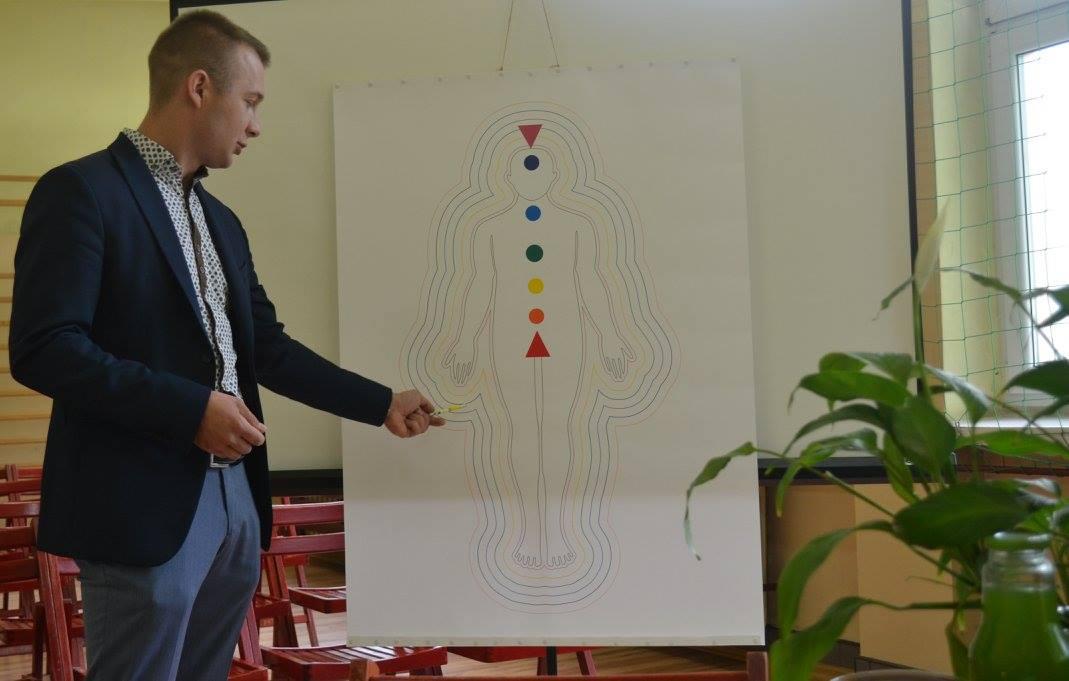 Obrona Damiana Radziejewskiego - Budowa energetyczna człowieka