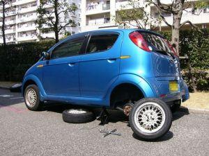タイヤ交換安全