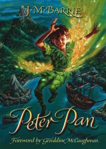【學英文方法】看到英文小說就害怕?10本經典作,保證看得完 - 彼得潘《Peter Pan》– J.M. Barrie