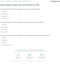Ancient Egyptian Timeline For Kids Worksheet   Printable Worksheets and  Activities for Teachers [ 1169 x 1140 Pixel ]