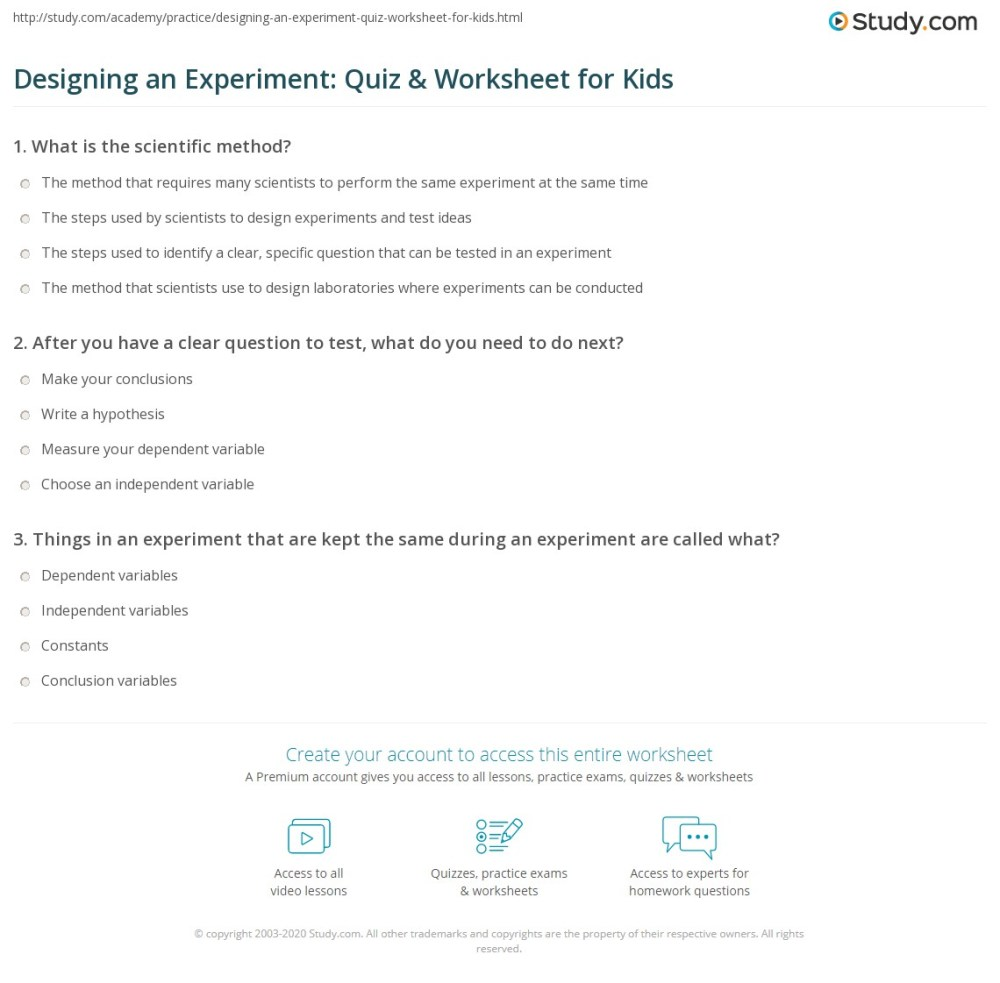 medium resolution of Create Experiment Worksheet   Printable Worksheets and Activities for  Teachers