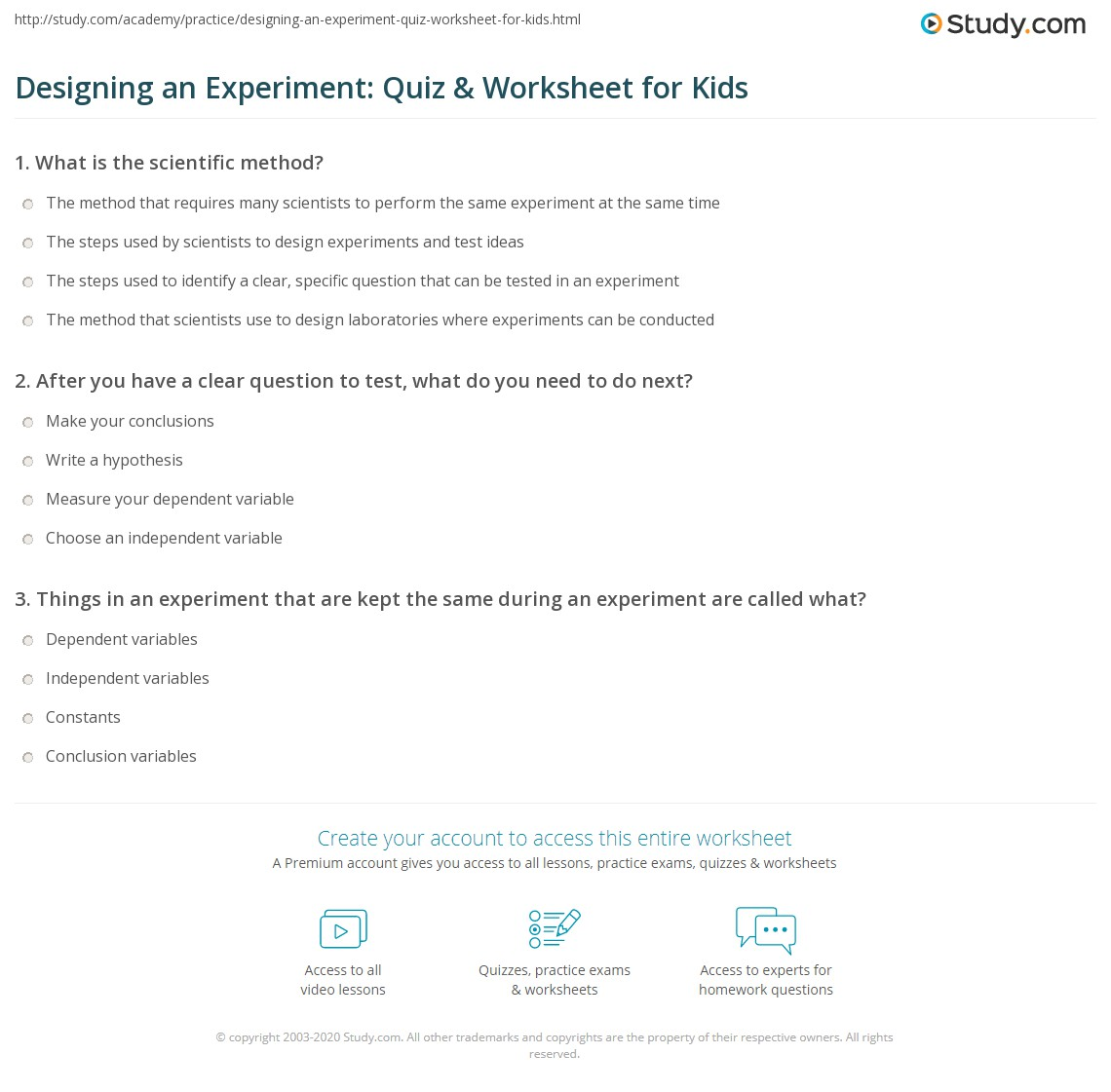 hight resolution of Create Experiment Worksheet   Printable Worksheets and Activities for  Teachers