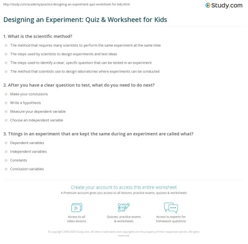 small resolution of Create Experiment Worksheet   Printable Worksheets and Activities for  Teachers