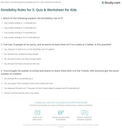 34 Divisibility Rules Practice Worksheet - Worksheet Project List [ 1197 x 1140 Pixel ]