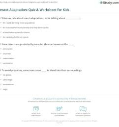 Exoskeleton Science Worksheet   Printable Worksheets and Activities for  Teachers [ 1169 x 1140 Pixel ]